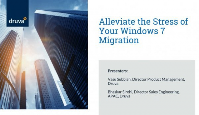 Alleviate the stress of your Windows 7 migration