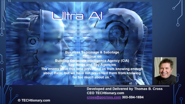 Ultra AI - Building Corporate Intelligence Agency (CIA) - Part 1