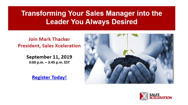 Transforming Your Sales Manager into the Leader You Always Desired