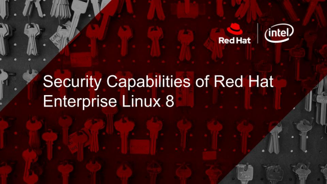Security Capabilities of Red Hat Enterprise Linux 8
