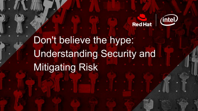 Don't Believe the Hype: Understanding Security and Mitigating Risk