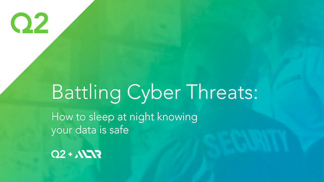 Battling Cyber Threats: How to sleep at night knowing your data is safe