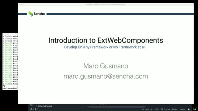 Sencha - Framework-agnostic Development with ExtWebComponents
