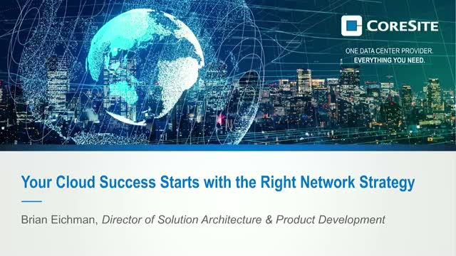 Your Cloud Success Starts with the Right Network Strategy