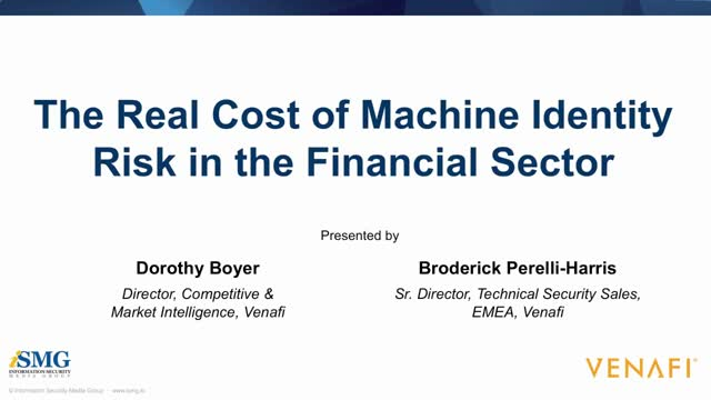 The Real Cost of Machine Identity Risk in the Financial Sector