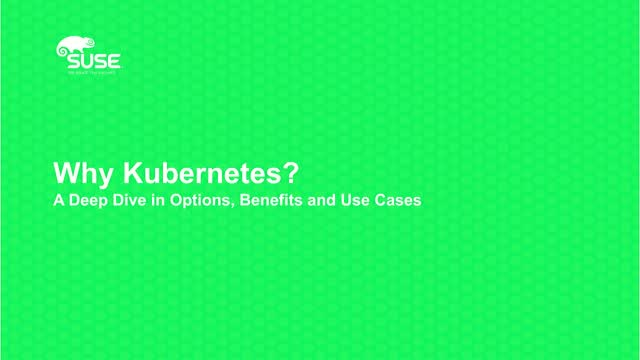 Why Kubernetes? A Deep Dive into Kubernetes world