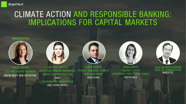 Climate Action and Responsible Banking – Implications for Capital Markets