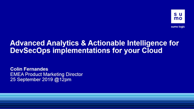 Advanced Analytics & Actionable Intelligence for Cloud DevSecOps