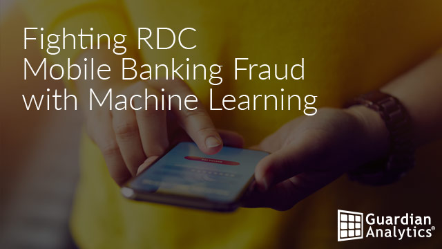 Fighting RDC Mobile Banking Fraud with Machine Learning