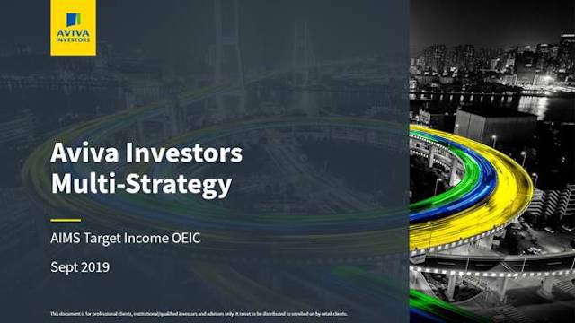 How to Deliver Absolute Income – Aviva Investors Multi-Strategy Target Income