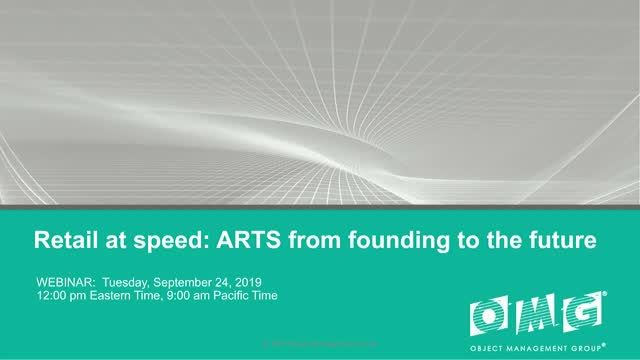 Retail at speed: ARTS from founding to the future