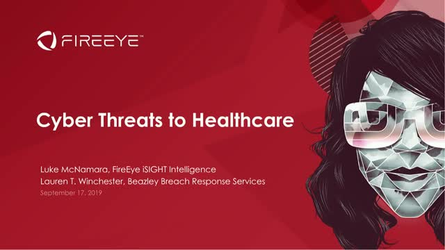 Cyber Threats Impacting Healthcare Today