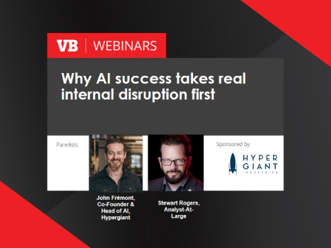 Why AI success takes real internal disruption first
