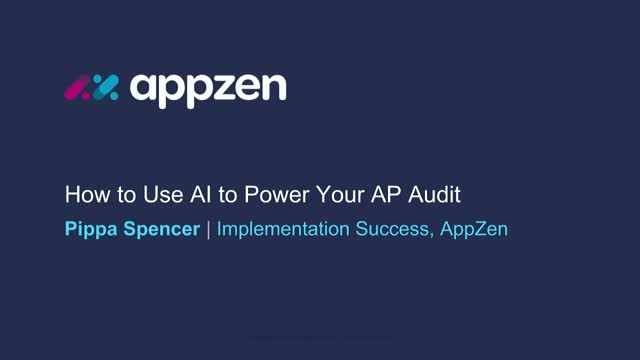 Power your AP audit with AI