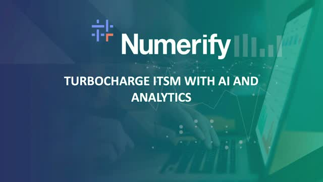 Best Practices for Turbocharging ITSM with AI and Analytics