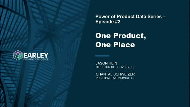 Power of Product Data Series: One Product, One Place