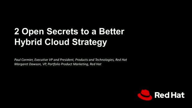 How to Build a Better, More Successful Hybrid Cloud Strategy