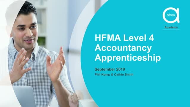 How HFMA can help your organisation utilise the apprenticeship levy