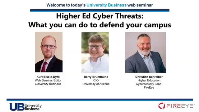 Higher Ed Cyber Threats: What you can do to defend your campus