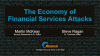 Security Attacks in Financial Services: DDos, Phishing, and Beyond