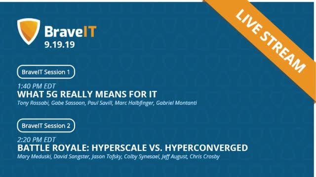 5G, Hyperscale, and Hyperconverged: The Future of IT | BraveIT Livestream