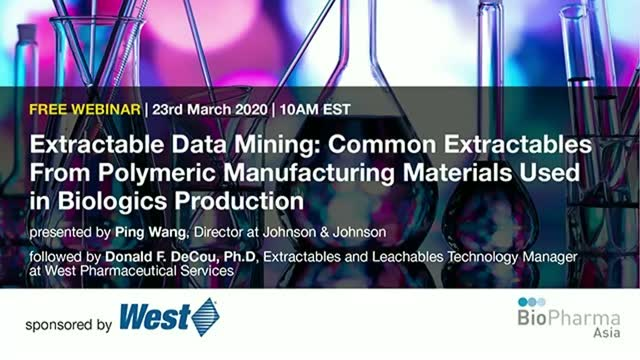 Extractable Data Mining: Common Extractables From Polymeric Manufacturing Materi