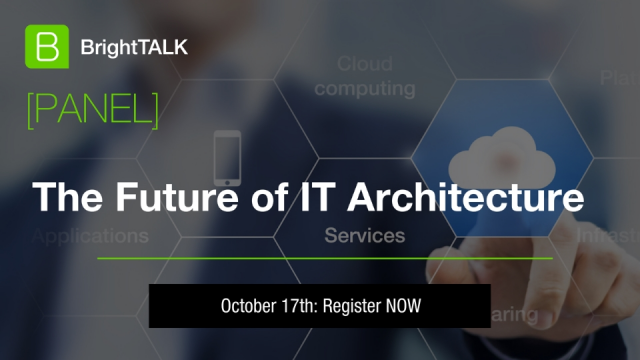 [Panel] The Future of IT Architecture