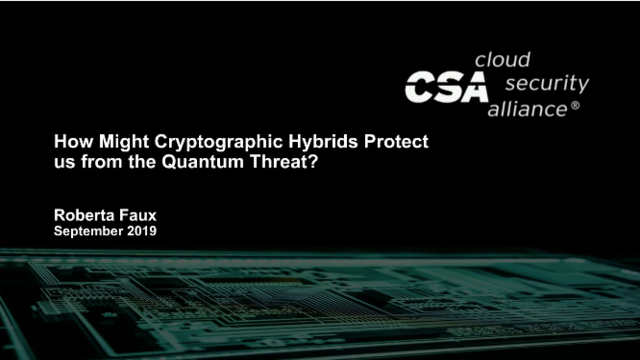 Mitigating the Quantum Threat with Hybrid Cryptography