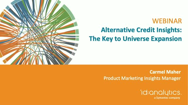 Alternative Credit Insights: The Key to Universe Expansion