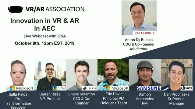 Innovation in VR & AR in AEC