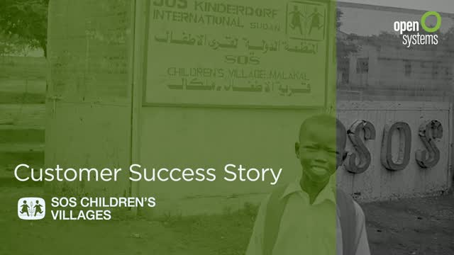 Customer Story: SOS Children's Villages International
