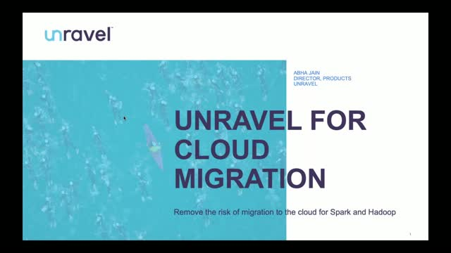 Unravel for Cloud Migration