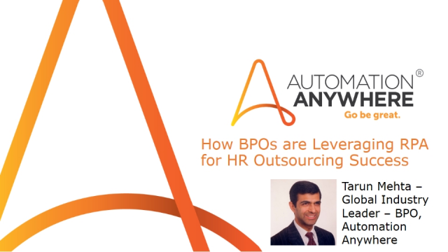 How BPOs are Leveraging RPA for Success in HR Outsourcing