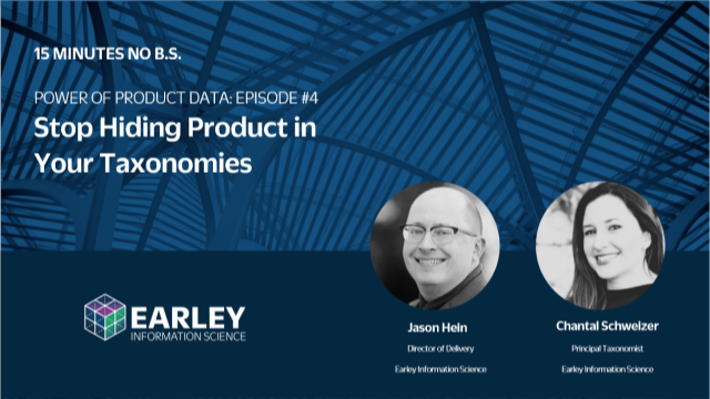 Power of Product Data Series: Stop Hiding Product in Your Taxonomies