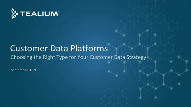 CDPs: Choosing the Right Type for Your Customer Data Strategy
