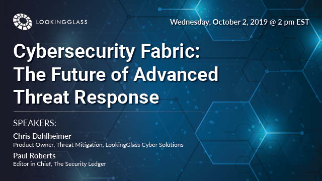 Cybersecurity Fabric: The Future of Advanced Threat Response