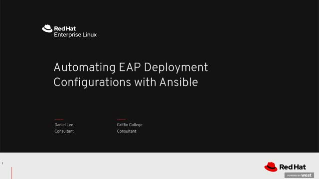 Automating EAP deployment configurations with Ansible