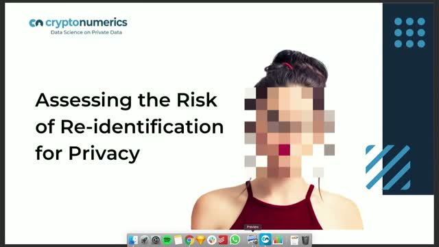 Assessing the Risk Of Re-Identification for Privacy Compliance