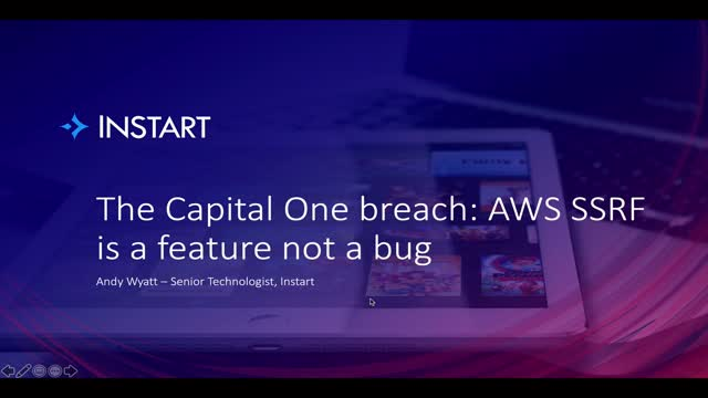 The Capital One breach: AWS SSRF is a feature not a bug