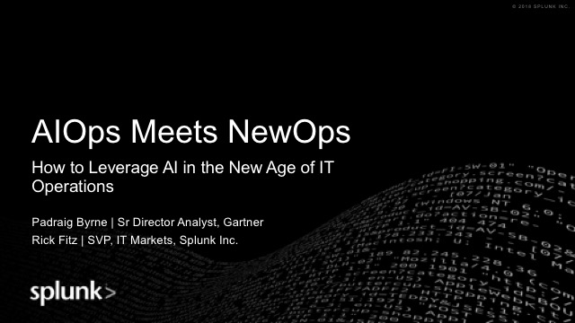 AIOps Meets NewOps: How to Leverage AI in New Age of IT Operations