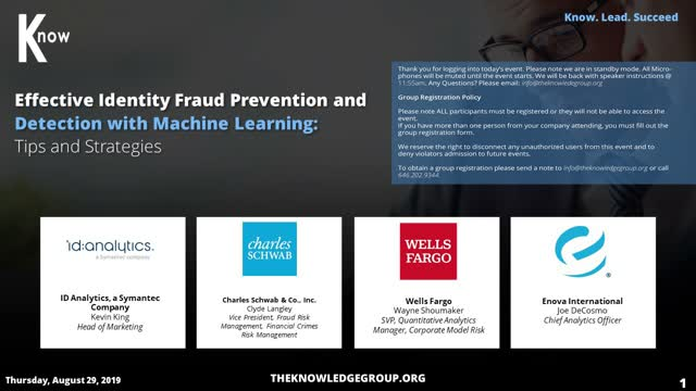 Effective Identity Fraud Prevention and Detection with Machine Learning