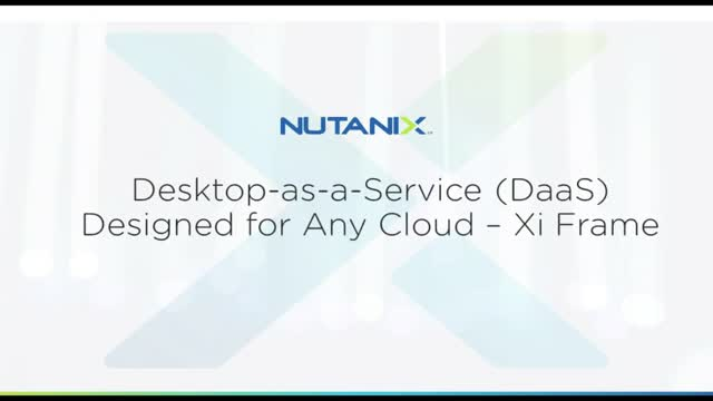 Introducing Desktop as a Service for Any Cloud