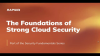 The Foundations of Strong Cloud Security