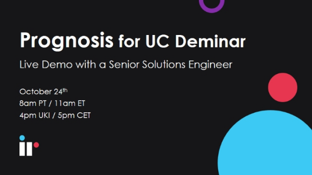 Prognosis for UC Live Demo [October 2019]
