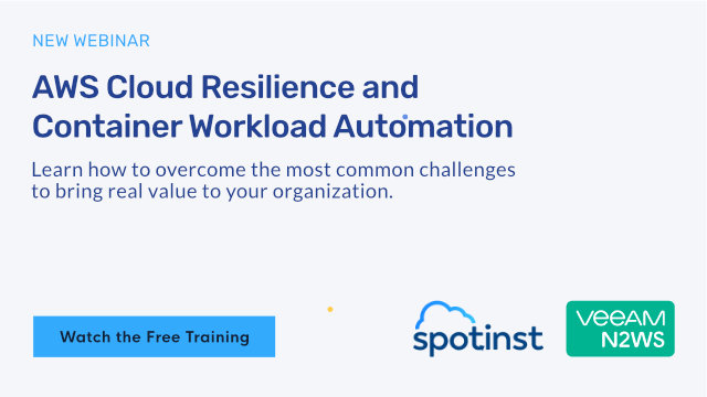 Cloud Resilience and Container Workload Automation