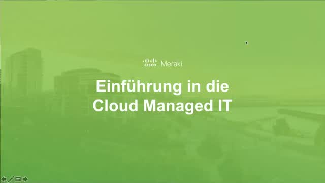 Deutsch - Einführung in Cloud Managed IT