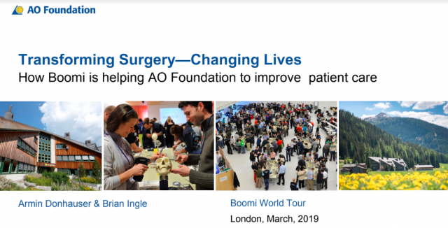 Case Study: How Boomi is helping AO Foundation to improve patient care