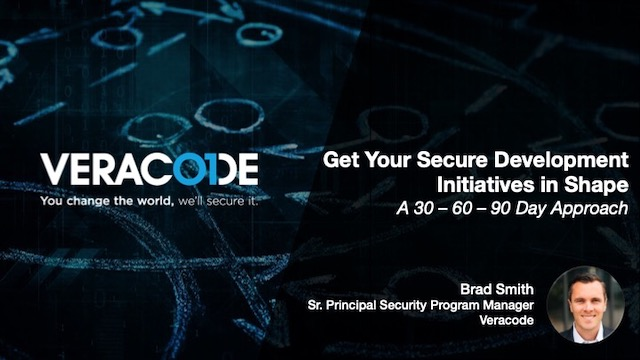 Get Your Secure Development Initiatives in Shape | A 30 – 60 – 90 Day Approach