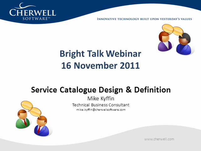 Service Catalog – A Practical Approach to Design & Implementation