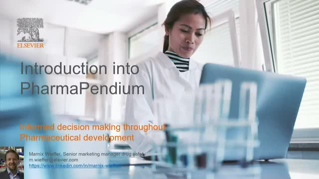 Introduction into PharmaPendium: informed decision making during development